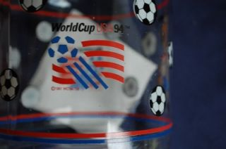 FIFA 1994 World Cup USA 94 Soccer Football Glass Decanter Pitcher Striker Mascot