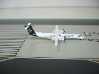 Olympic Air Bombardier Dash 8 Q400 SX Oba 1 400 Scale Diecast JC Wings