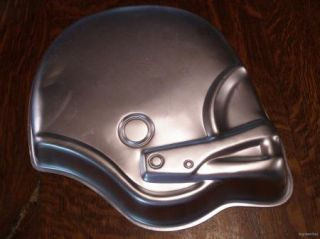 Wilton Football Helmet Cake Pan w Insert Mushroom Team