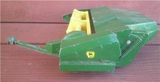 1970's Ertl John Deere 596 Mower Conditioner Farm Tractor Toy 1 16 Scale Parts