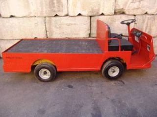 2007 Taylor Dunn Utility Cart Material Handling Golf Flat Bed Model Bo 248 36