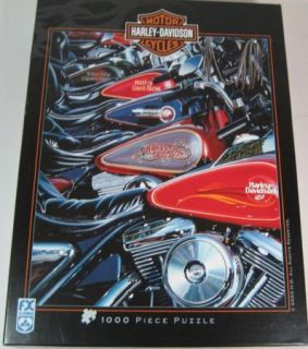 Harley Davidson Motorcycle Puzzle 1 000 Pieces 2003