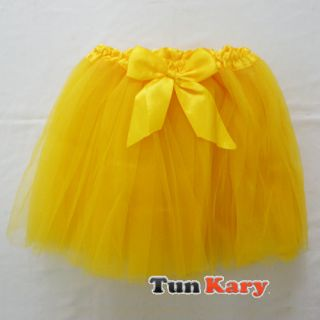 Girl Baby Ballet Tutu Party Skirt Pettiskirt Rainbow BB