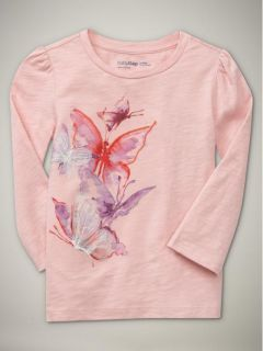 Baby Gap Girls LS Shirt Top