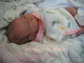 Reborn Micro Preemie Baby Doll by Marianne Smith