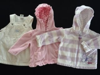 91 Piece Baby Girl Newborn 0 3 3 6 Months Fall Winter Clothes Outfit Lot