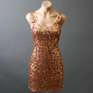 Sequin Cocktail Party Dress