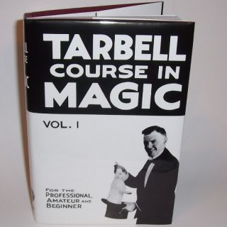 New Tarbell Course in Magic Vol 1 Book Learn Tricks