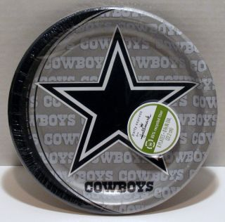Dallas Cowboys NFL Party Set 96 Paper Plates Napkins