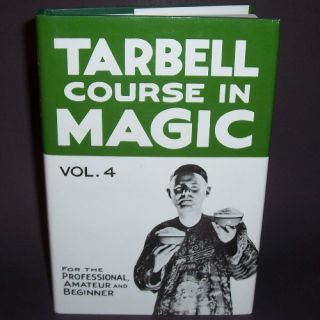 New Tarbell Course in Magic Vol 4 Book Learn Tricks