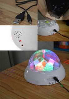 Romantic Color Changing Night Light Projector Rotating Music Kid Bedroom Decor