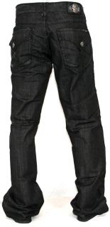 New Mens Laguna Beach Jeans Manhattan Beach Boot Cut Black 32