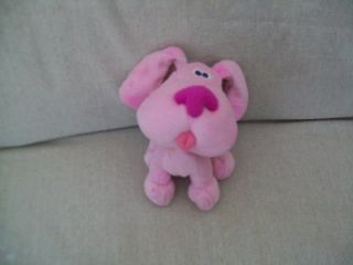 Viacom Magenta Blue Clues Puppy Dog Plush Nick Jr