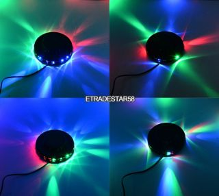 8W 48 LEDs Auto Voice Activated RGB Bar Xmasparty Disco DJ Stage Lighting Effect