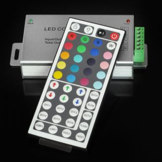DC 12V 24V 12A 44Key IR Remote Controller for RGB SMD 5050 3528 LED Strip