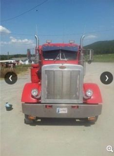 1987 Peterbilt 359 Heavy Duty Truck with Wood Floors and Leather Interior