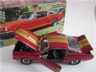 Lane Exact Detail 1966 Shelby GT 350H 1 18 Scale Diecast Model Car Mint in Box