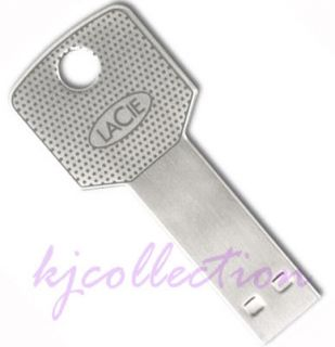 LaCie 16GB 16g USB Flash Pen Drive Key Shape Memory Iamakey 093053774448