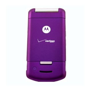 New Motorola W755 Moto Verizon Purple Sleek Flip Camera Phone