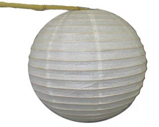 "White 12"" Round Chinese Oriental Paper Lanterns Decor Wedding Party Japanese"