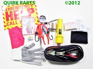 1989 2012 Buick Cadillac Chevrolet GMC Hummer Oldsmobile Pontiac Emergency Kit