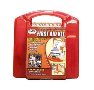 SAS 10 Person First Aid Kit Plastic Emergency First Aid