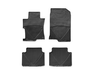 Weathertech® All Weather Floor Mats 2008 2011 Honda Accord Sedan Black