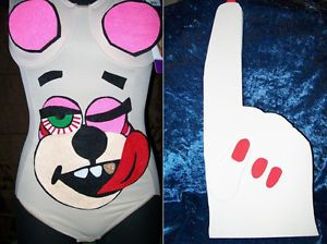 Miley Cyrus VMA Inspired Teddy Bear Halloween Costume Decal Kit Only Foam Hand