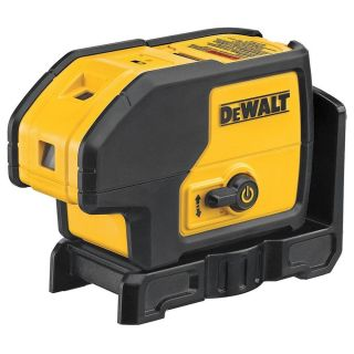 New Dewalt DW083K Self Leveling 3 Beam Laser Pointer