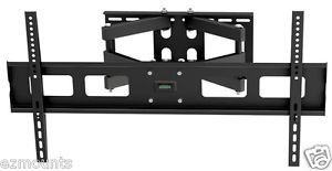 Full Motion Articulating Corner Wall Mount Bracket LCD LED Plasma HD TV Vesa