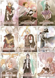 D Gray Man Allen Starry Sparkly Trading Cards Set OF15