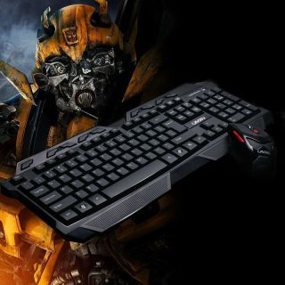 2 4G Wireless Keyboard Mouse Bundles Set 2000 dpi Adjustable Weight Gaming Mice