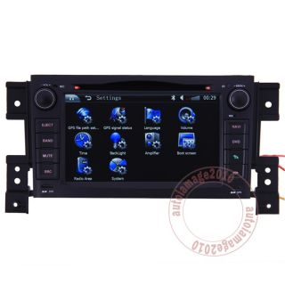 05 11 Suzuki Grand Vitara Car GPS Navigation Radio TV Bluetooth iPod DVD Player