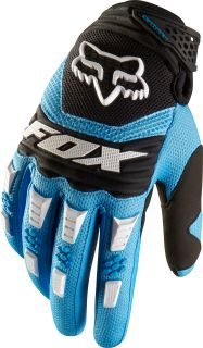 Fox Racing Adult Dirtpaw Gloves Blue Motocross MX ATV BMX Off Road MTB Dirt Bike