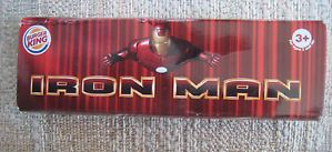 3 Burger King Kids Meal Toys Iron Man 2007