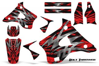 Kawasaki KX125 KX250 94 98 Graphics Kit Decals Creatorx BTR