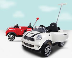 BMW Mini Cooper s Push Car Kids Ride on Toy 2013 Brand New