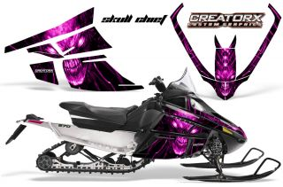 Arctic Cat F Series Snowmobile Graphics Kit Creatorx Decals SCP