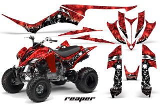 AMR Racing Quad Graphic Yamaha Raptor 350 Sticker Kit S
