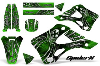 Kawasaki KX 250 99 02 Graphics Kit Creatorx Decals Spiderx SXG