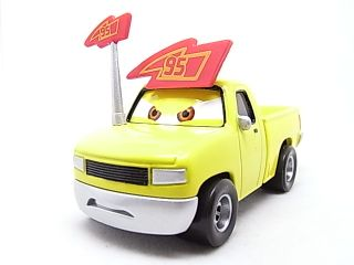 Disney Pixar Cars McQueen's Fan Yellow Truck in Hand