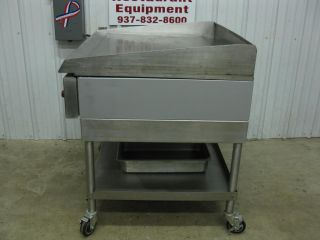 "Vulcan 36"" Flat Top Griddle 3' Grill Electric HEG36"