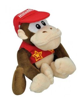 "Super Mario Bros Soft Plush Doll Figure Toy Kid Donkey Kong 18cm 7"" Free SHIP"