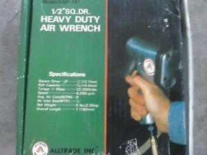 Alltrade Half inch Heavy Duty Air Wrench New