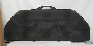 Lightly Used Contico Hard Side Bow Case Black Foam Lined