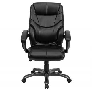 Office Chair Heavy Duty Best Swivel Executive Leather Desk High Back Overstuffed
