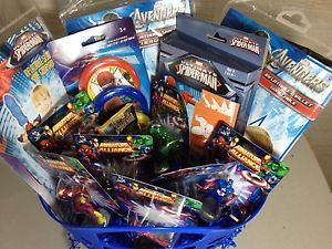 New Marvel Avengers Spiderman Iron Man Ironman Kids Toys Gift Basket Birthday