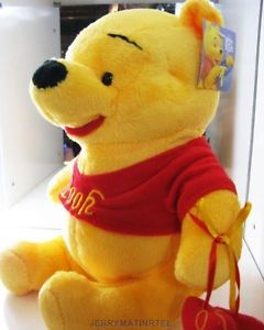 New 10 inch or Winne The Pooh Plush Doll Toy Kids Bedroom Gift Tigger