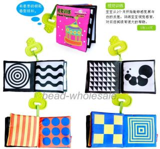 Baby Kid Child Intelligence Development Cloth Book Cognize Book Funny Toy