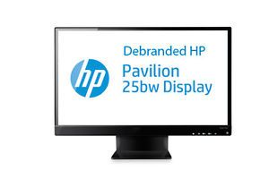 "25"" IPS HP 25BW 25 inch LED Backlit 1920x1080 HDMI DVI VGA LCD Monitor Display"
